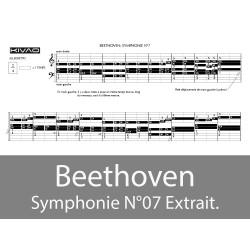 Beethoven Symphonie N°7 (extrait)