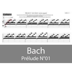 Bach Prélude N°1