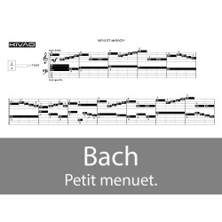 Bach, un Menuet