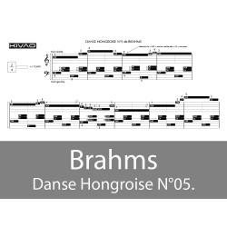 Brahms danse hongroise N°05