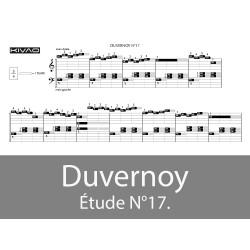 Duvernoy Étude N°17