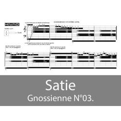 Satie Gnossienne N°03