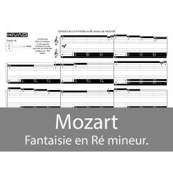 Mozart Fantaisie en Ré mineur