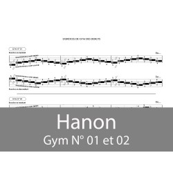 Hanon Gym N°01 et 02
