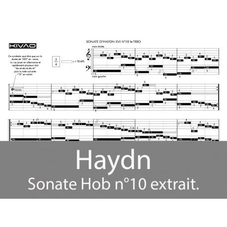 Haydn Sonate N°10 (le Trio)