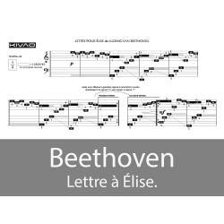 Beethoven Lettre à Élise