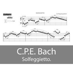Bach C.P.E. Solfeggietto