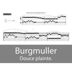Burgmuller - Douce plainte