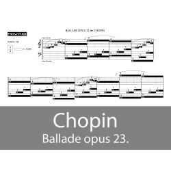 Chopin - Ballade opus23