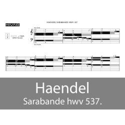 Haendel - la Sarabande hwv 537
